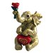 <strong>24KT Gold Plated Elephant with Heart Keepsake Box</strong> by Cristiani Collezione