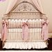 <strong>Orchid Lilac Silk 4 Piece Crib Bedding Set</strong> by Little Crown Interiors