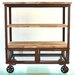 <strong>Rustic Kitchen Cart</strong> by TLC Home