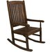 Highland Acacia Traditional Wood Porch Rocker
