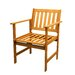Patio Dining Arm Chairs (Set of 2)