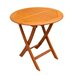 "Balau 27"" Folding Patio Bistro Table"