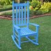 Wooden Patio Rocking Chair