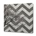 <strong>Obvious Place</strong> Tree Branch Gray Chevron Graphic Art on Canvas
