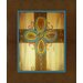 <strong>Rustic Cross Graphic Art on Canvas in Brown</strong> by Obvious Place