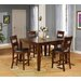 <strong>Wildon Home ®</strong> 5 Piece Counter Height Dining Set