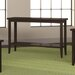 <strong>Downtown Sofa Table with Shelf</strong> by Caravel