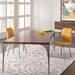 """Saloom Furniture Peter Francis 84"""" L Dining Table"""