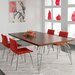 "Saloom Furniture Peter Francis 74"" L Extendable Dining Table"
