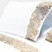 <strong>Cristal Feather Embroidered 400 Thread Count Sheet Set</strong> by Lorena Gaxiola
