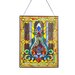 <strong>Stained Glass Fleur de Lis Window Panel</strong> by River of Goods