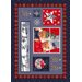 Milliken Winter Seasonal Holiday Christmas Cuddles Novelty Rug