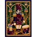 Winter Seasonal Nutcracker Novelty Rug