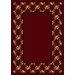 <strong>Design Center Rose Bower Cranberry Rug</strong> by Milliken