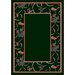 Design Center Intermission Emerald Novelty Rug