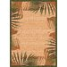 <strong>Modern Times Palm Deep Olive Rug</strong> by Milliken