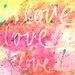 Marmont HIll Love Love Love Painting Prints on Canvas