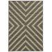 Riviera Grey/Ivory Geometric Area Rug by Oriental Weavers