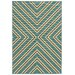 <strong>Oriental Weavers</strong> Riviera Blue/Ivory Geometric Rug