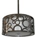 <strong>Seiko 3 Light Drum Chandelier</strong> by Whitfield Lighting