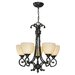Dalton 5 Light Chandelier