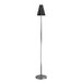 Messina Floor Lamp in Polished Steel