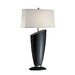 Ofira Table Lamp in Dark Walnut