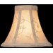 Candelabra Lamp Shade in Gray Jacquard