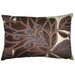 Flora 13  x 20 Pillow in Brown/Cocoa