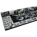 Classic Black/Ivory Floormat