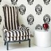 <strong>Barbara Hulanicki Antoinette Figural Flocked Wallpaper</strong> by Graham & Brown