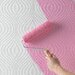 <strong>Paintable Curvy Geometric Wallpaper</strong> by Graham & Brown