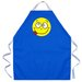 Silly Face Apron in Royal