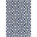 <strong>Tufted Pile Blue Ionic Rug</strong> by Thomas Paul