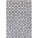<strong>Tufted Pile Grey Ionic Rug</strong> by Thomas Paul