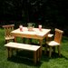 <strong>Moon Valley Rustic</strong> Nicholas Kids' Table and Chair Set