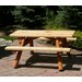<strong>Nicholas Kids Picnic Table</strong> by Moon Valley Rustic