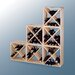 <strong>Country Pine Cube 24 Bottle Wine Rack</strong> by Wine Cellar Innovations