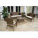 Grenada Patio 5 Piece Lounge Seating Group
