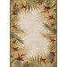 <strong>Couristan</strong> Covington Sand Multi Tropic Garden Indoor/Outdoor Rug