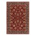 Inspired Design Chateau Garden Red Rug