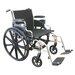 Karman Healthcare Extra Wide Heavy Duty Deluxe Bariatric Wheelchair