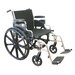 Extra Wide Heavy Duty Deluxe Bariatric Wheelchair