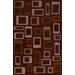 Studio Chocolate Geometric Rug