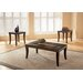 <strong>Standard Furniture</strong> Laguna 3 Piece Coffee Table Set
