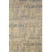 Lido Scriptures Chalk Rug