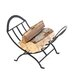 Uniflame Corporation Wrought Iron Log Rack