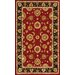 Jewel Red/Black Rug