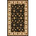 Jewel Black/Beige Rug