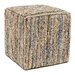 <strong>Anji Mountain</strong> Saree Pouf Ottoman